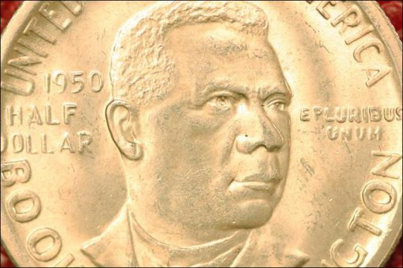 1950 - BOOKER T. WASHINGTON  - PÓŁ DOLARA AM.