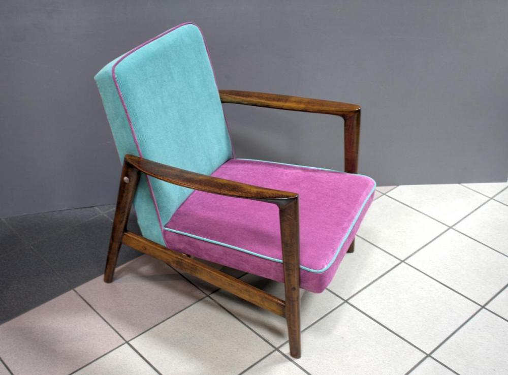 Fotel Modernizm Lata 70 Te