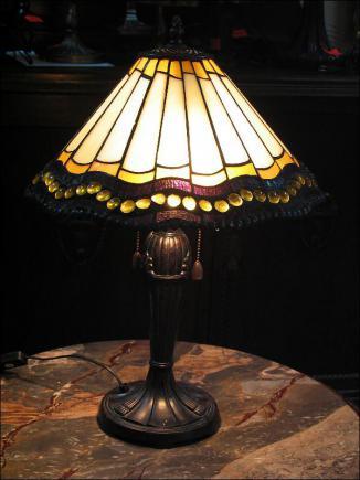 LAMPA WITRAŻOWA TIFFANY 58 CM