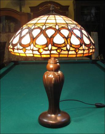 LAMPA WITRAŻOWA TIFFANY 53 CM