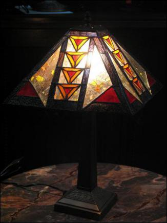 LAMPA WITRAŻOWA TIFFANY 50 CM