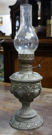 LAMPA NAFTOWA / koniec XIX w. /