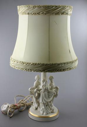 LAMPKA PORCELANOWA - TETTAU